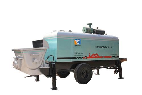 英特HBT80SDA-1816柴油机拖泵