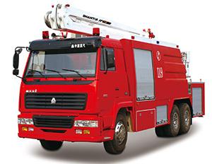 山推JP18举高喷射消防车
