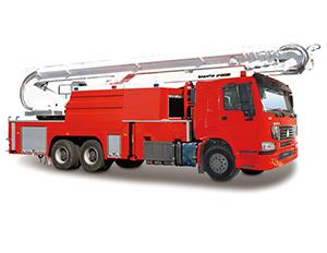 山推JP40A举高喷射消防车