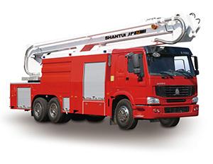 山推JP32举高喷射消防车