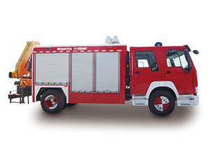 山推JY60H抢险救援消防车