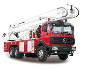 山推DG32登高平台消防车