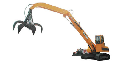 詹阳动力JY645-GD履带式抓钢机高清图 - 外观