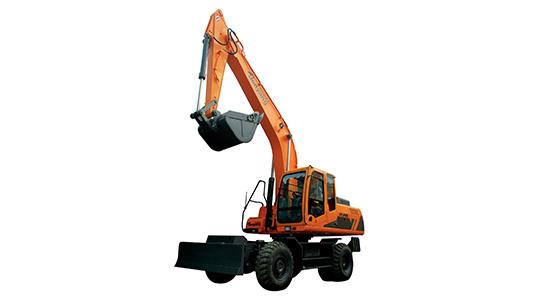 詹阳动力轮式挖掘机