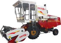 沃得农机DC50C轮式自走全喂入式收割机高清图 - 外观