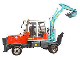 新振XZ-702014新款轮式挖掘机