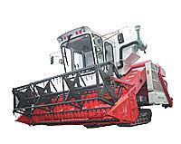 沃得农机巨龙履带式联合收割机