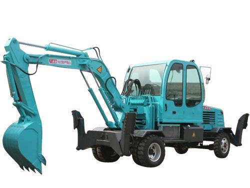 新振XZ-60輪式挖掘機高清圖 - 外觀
