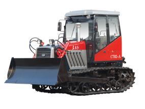 东方红(一拖)C802履带拖拉机高清图 - 外观