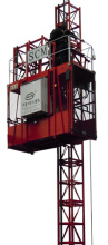 川建SC型1t/1t施工升降机高清图 - 外观