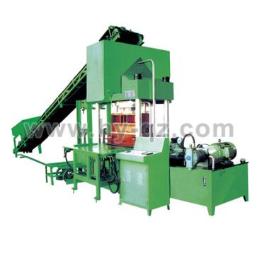 华源机械HY200T 型路沿(路面砖)液压成型机砖机