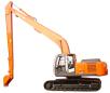 原装日立ZX240LC-3(H18)挖掘机高清图 - 外观