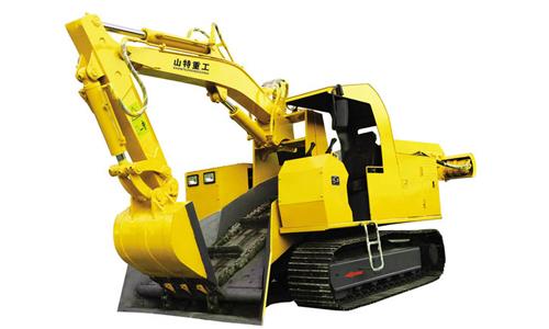 华鑫STB-120D型大坡度专用履带式扒渣机高清图 - 外观