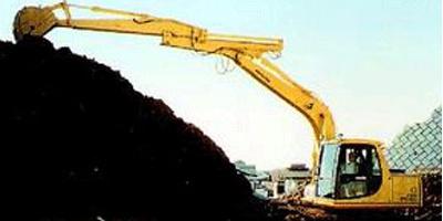 华鑫HX600三接臂卸煤机加
