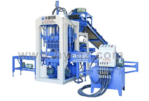 华源机械QT3-25半自动液压砌块成型机