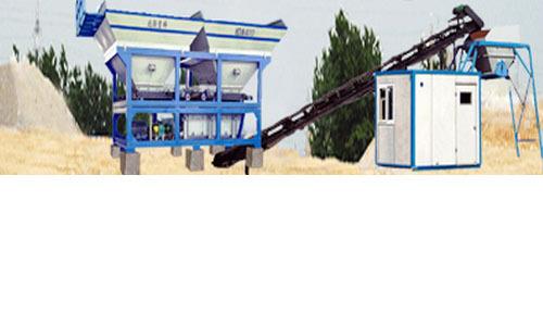 北联重科WDM400稳定土拌合站