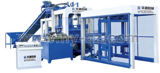 华源机械QT10-15全自动混凝土砌块成型机