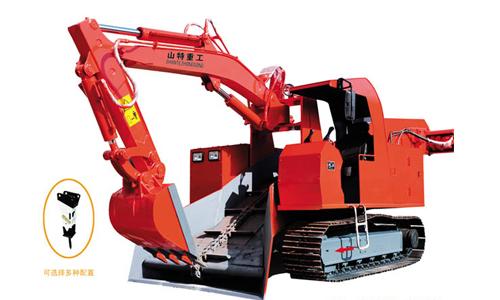 华鑫STB-120型履带式扒渣机高清图 - 外观