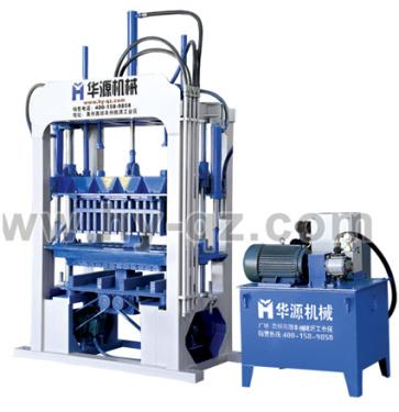 华源机械QT4-40半自动混凝土液压砌块成型机
