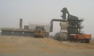 藤森机械2000型沥青搅拌设备