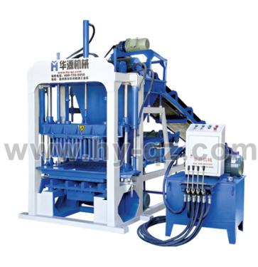 华源机械QT4-30半自动混凝土液压砌块成型机