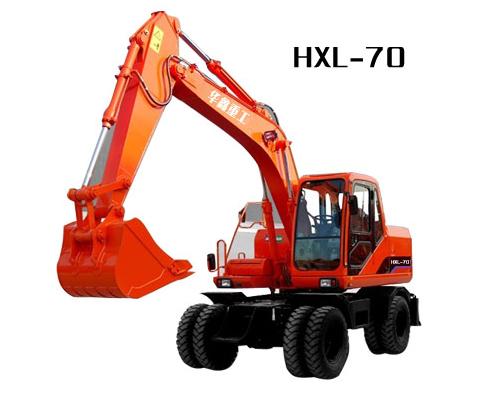 华鑫HXL-70挖掘机高清图 - 外观