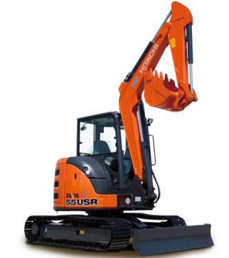 原装日立ZX55USR-5A挖掘机