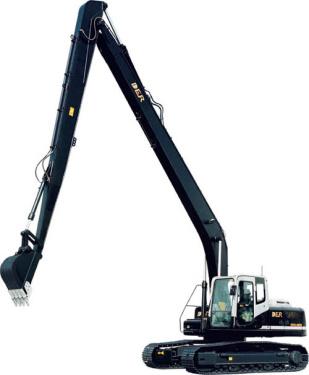 德尔重工DER323-8加长臂挖掘机