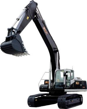 德尔重工挖掘机型号大全