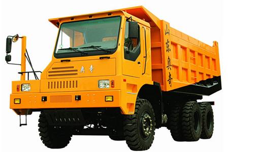 奥奇重工AZ3500型矿用自卸车高清图 - 外观