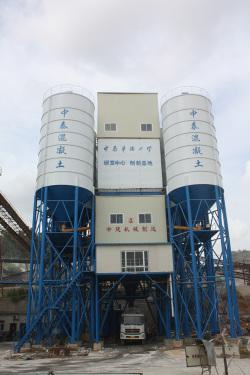 中建机械环保节能混凝土搅拌楼 270m3混凝土搅拌站