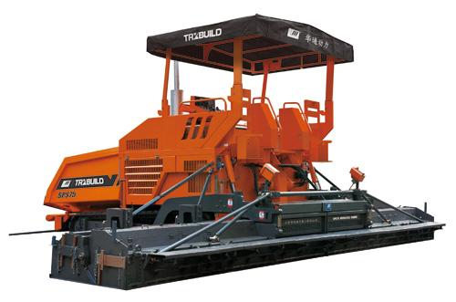 华通动力SPS75多功能沥青摊铺机高清图 - 外观