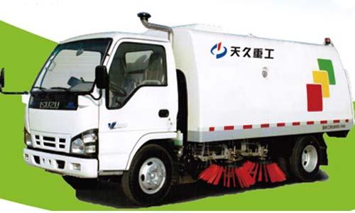 天久重工YSY5060TSL清扫车高清图 - 外观