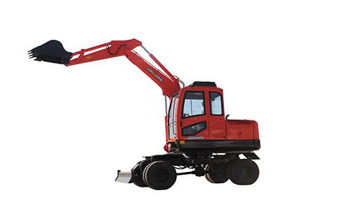晋工JGM907L轮式挖掘机