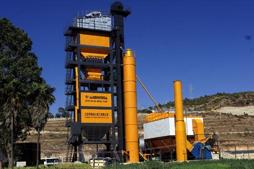 华通动力ABH4500沥青混合料搅拌设备