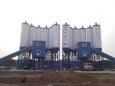 中建机械快装免基础混凝土搅拌站90m3混凝土搅拌站高清图 - 外观