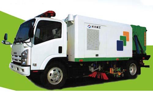 天久重工YSY5100TSL清扫车高清图 - 外观