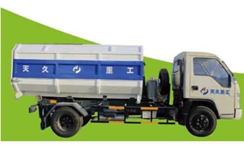 天久重工XZJ5060ZXX垃圾车高清图 - 外观