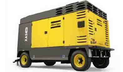 阿特拉斯·科普柯拖车安装型喷油旋转式螺杆移动式压缩机7-25 bar(100-365 psig)高清图 - 外观