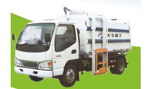 天久重工ZQZ5071ZZZ垃圾车高清图 - 外观