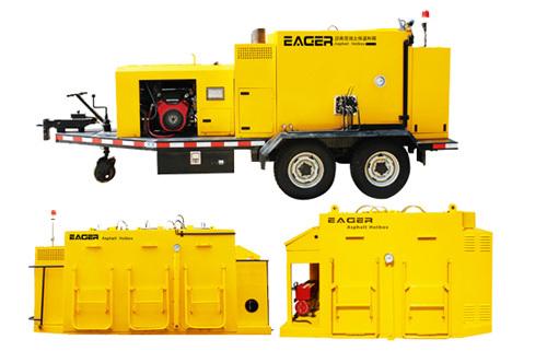 瑞德EAGER车载式沥青混凝土保温料箱