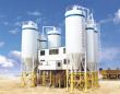 中建机械快装免基础混凝土搅拌站60m3混凝土搅拌站高清图 - 外观