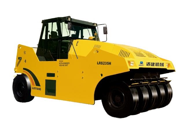 国机洛建LRS235H/LRS226H/YL16G全液压轮胎压路机高清图 - 外观