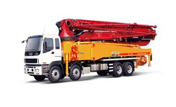 三一重工SY5405THB 530C-853米C8系列混凝土泵车高清图 - 外观