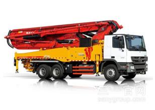 三一重工SY5332THB 470C-8S47米C8系列混凝土泵车高清图 - 外观