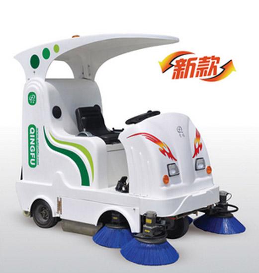 青福QF1850智能扫地机高清图 - 外观
