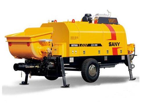 三一重工HBT6006A-5D柴油機混凝土拖泵