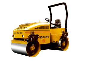 国机洛建HDD630B全液压小型压路机