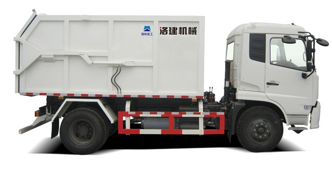 国机洛建5120ZLJD4/5160ZLJD4密封式垃圾转运车高清图 - 外观