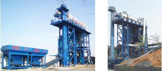 龍達瀝青混凝土廠拌熱再生設備